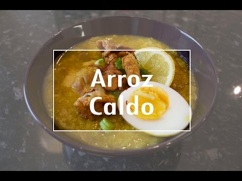 How to cook Chicken Arroz Caldo