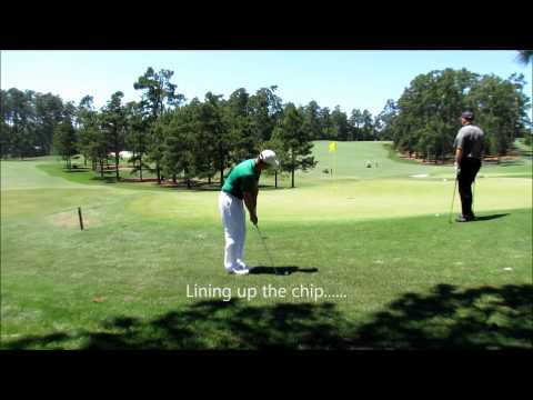 Zlight Round At Augusta National Golf Course