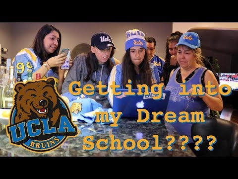 UCLA Admission Reaction 2018