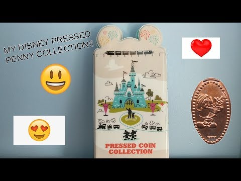 MY DISNEY PRESSED COIN COLLECTION!!