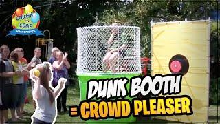 Dunking Booth Rental Lexington SC | Dunk Tank for Rent | Fundraising idea Lexington, SC 29072 29073