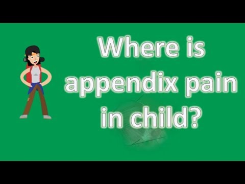 Where is appendix pain in child ? | BEST Health FAQs