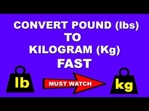 Fast Maths Trick to Convert Pound to kg in a Few Seconds in Mind - Hindi