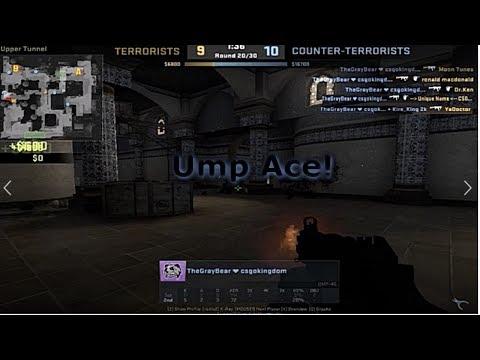 Ump Ace 1 CT 5 T | CS:GO