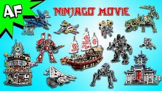 Every Lego Ninjago Movie Set - Complete Collection!