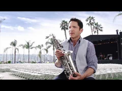 Dave Koz with Yamaha saxophones
