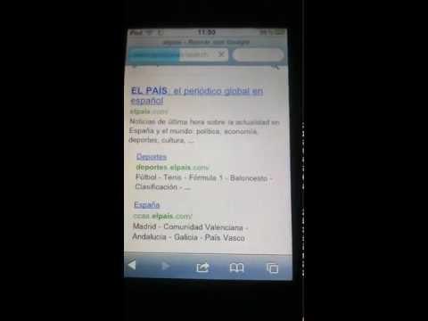 Ipod Touch 8GB con Custom Firmware de whited00r
