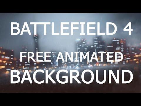 Battlefield 4 Rain Animated Background Tutorial For Windows 7 & Windows 8