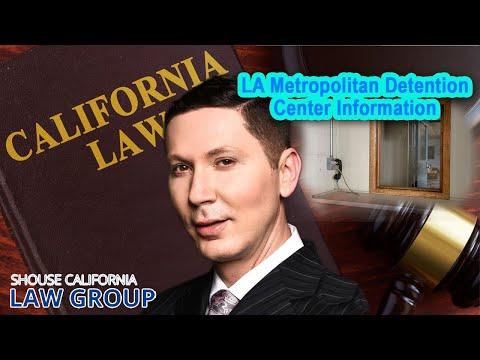 Los Angeles Metropolitan Detention Center Information (Location, bail, visiting hours)