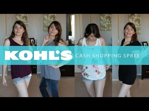 KOHL'S CASH SHOPPING SPREE   SHOP WITH ME