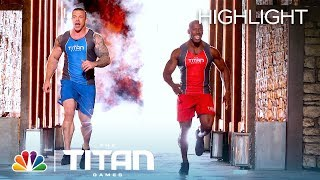 Anthony Fuhrman and James Jean-Louis Compete on Mount Olympus - Titan Games 2019