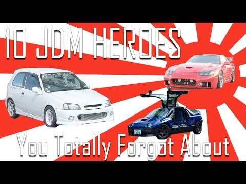 10 JDM Heroes You Totally Forgot About