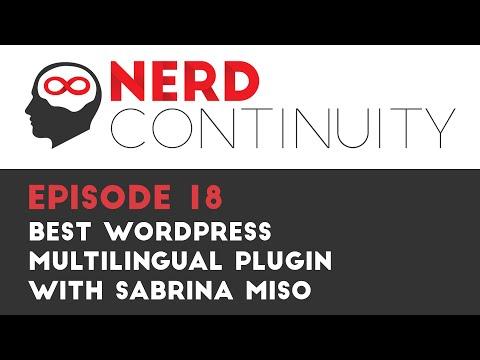 Episode 18 - Best WordPress Multilingual Plugin - with Sabrina Miso