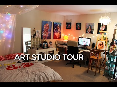 Room Tour || Art Studio