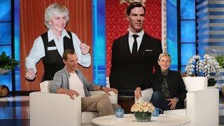Benedict Cumberbatch Reacts to His Chocolate Bunny Look-Alikes