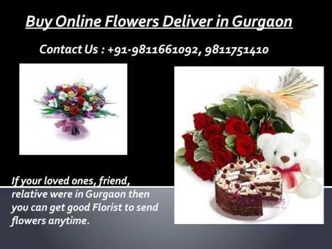 Buy Online Flowers Deliver in Gurgaon