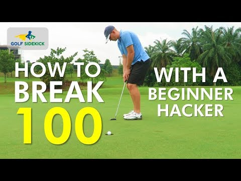How to Break 100 featuring an Actual Beginner