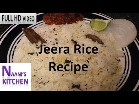 Jeera Rice Recipe| Easy to Prepare Jeera/Cumin Rice in Electric Rice Cooker