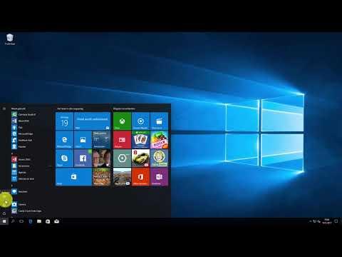 Windows 10: mappen in Startmenu toevoegen