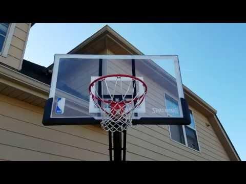 Spalding basketball goal review