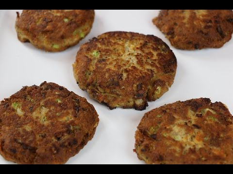 Salmon Croquettes - ( Salmon patties )