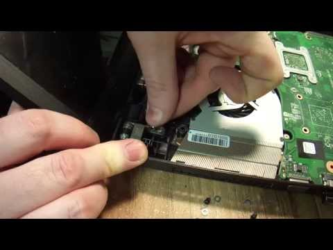 How to repair a broken LCD hinge on a laptop. Toshiba.