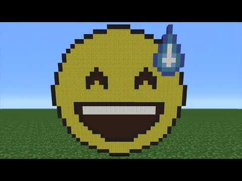 Minecraft Tutorial: How To Make A Nervous Emoji