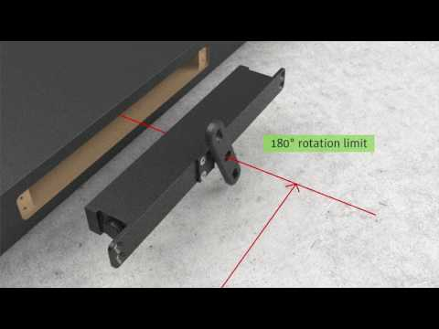 Stealth pivot hinge introduction