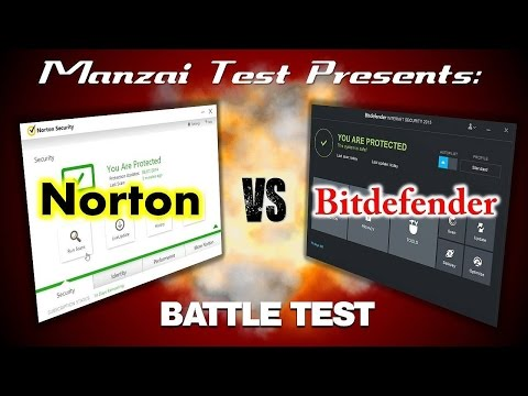 [Battle Test] Bitdefender Internet Security 2015 vs Norton Security 2015