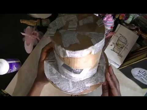 How to :Make a Top Hat (Paper Mache... Tutorial.... sort of...)