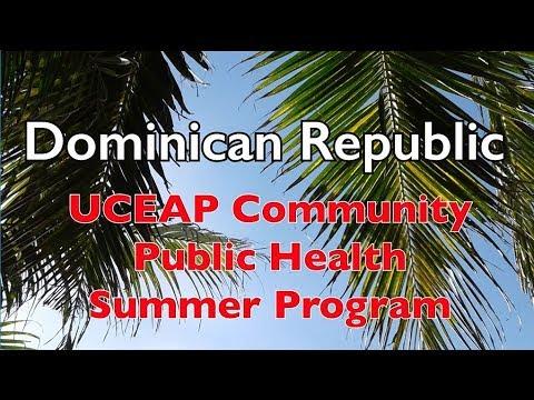 Study Abroad in the Dominican Republic! (Community Public Health Program)