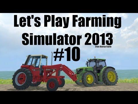 Farming Simulator 2013 Iron Horse E10 making silage