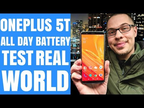 OnePlus 5T All Day Battery Test (VLOG#21)