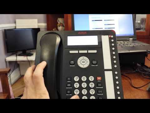 Avaya IP Office record your greeting using non visual embedded voicemail