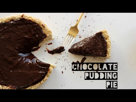 Healthy Chocolate Pudding Pie Recipe   How To Make A Low-Fat Chocolate Pudding Pie