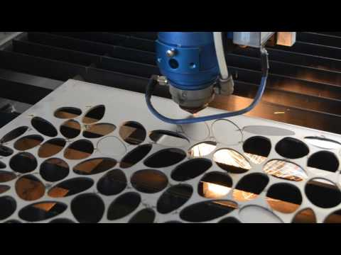 Homemade laser cutter 2mm stainless steel