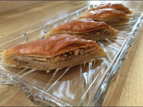 HOMEMADE BAKLAVA RECIPE FROM SCRATCH - Easier Than You Think and Amazingly Delicious!