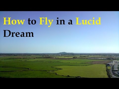 How to Fly in a Lucid Dream