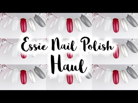 Essie & Jack Wills Polish HAUL + SWATCHES   Viki Nailbeauty