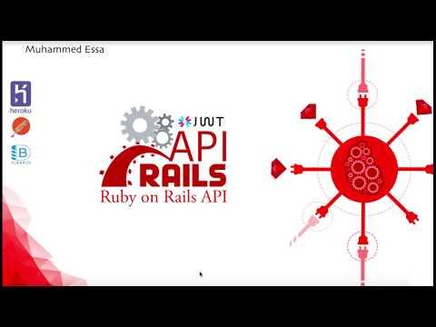 4  Ruby on Rails API JWT CRUD