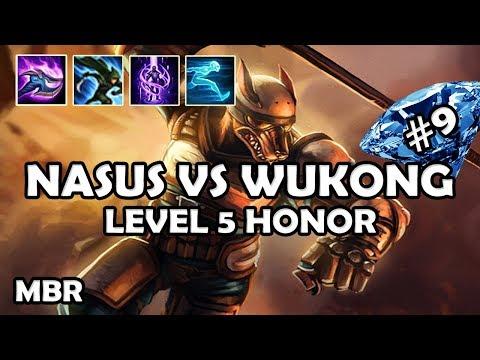 Infernal Nasus Vs Wukong | Level 5 Honor Nasus | Road To Diamond #9