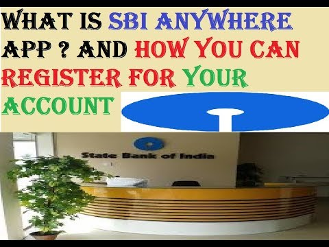 SBI Anywhere Personal !!! How To Registratiion And Use