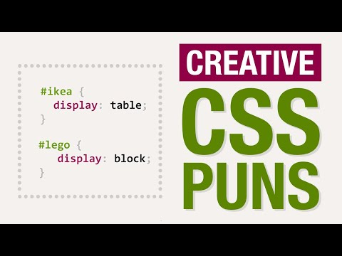 CSS Puns by Designers