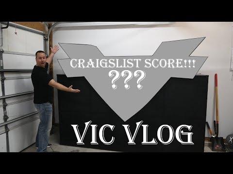 Victory Motorcycles Craigslist Find! Channel Update | Vic Vlog