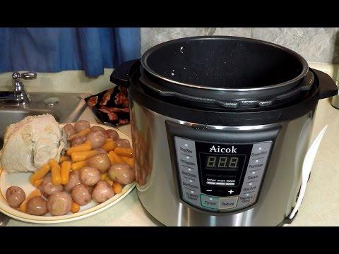 Aicok Pressure Cooker Turkey Breast Meal