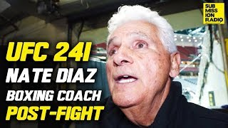 Download UFC 241: Nate Diaz's Coach Reacts to Win Over Pettis, Jorge Masvidal Fight Video