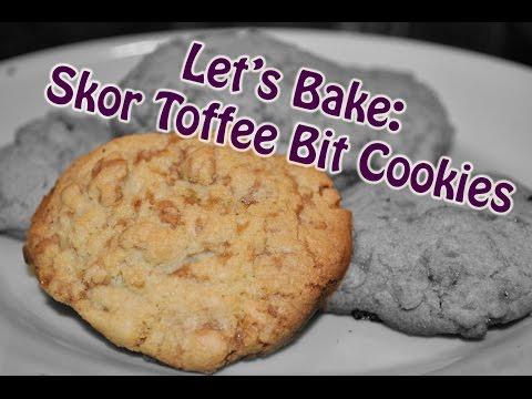Let's Bake: Skor Toffee Bit Cookies