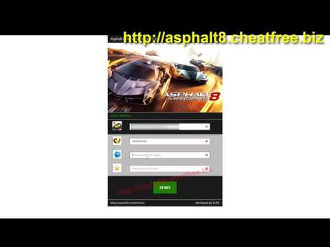 Asphalt 8 Hack   Get Unlimited Credits, Tokens and Stars iOS   Android   Windows Phone