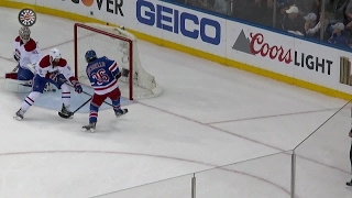 Zuccarello scores twice as Rangers beat Canadiens to head to Round 2