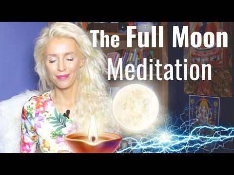 RAISE Your FREQUENCY: The Full Moon MEDITATION